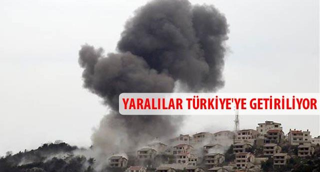 Suriye uçakları vurmaya başladı