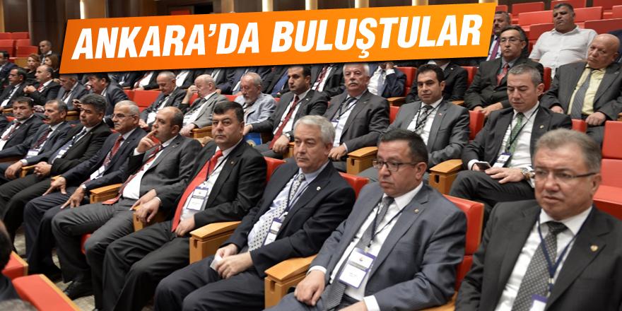 Ankara'da buluştular
