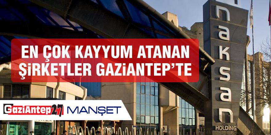 En çok kayyum atanan şirketler Gaziantep'te