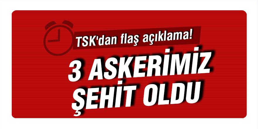 TSK'dan flaş açıklama!
