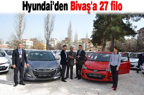 Hyundai'den Bivaş'a 27 filo