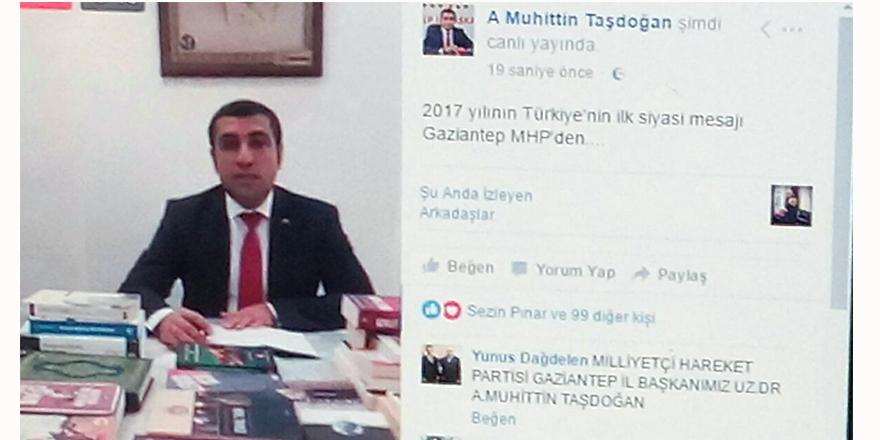 Taşdoğan canlı yayınla mesaj verdi