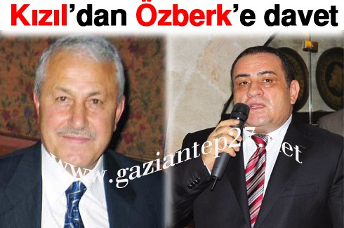 Kızıl'dan Özberk'e davet
