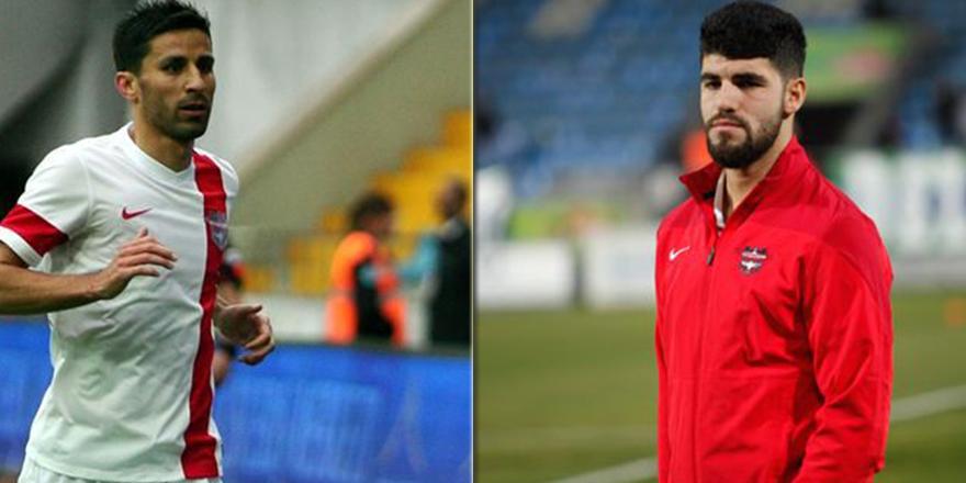 Gaziantepspor'da iki futbolcu gönderildi