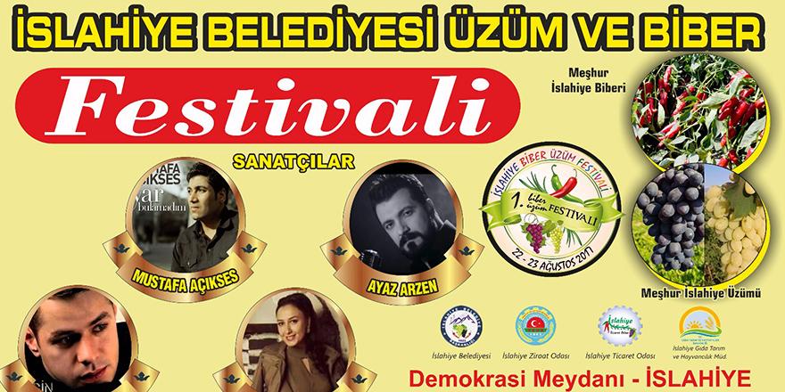 Üzüm ve biber festivali yapılacak