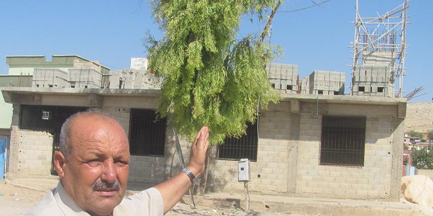 15 Temmuz Şehitler Camisi'nin yapımı sürüyor