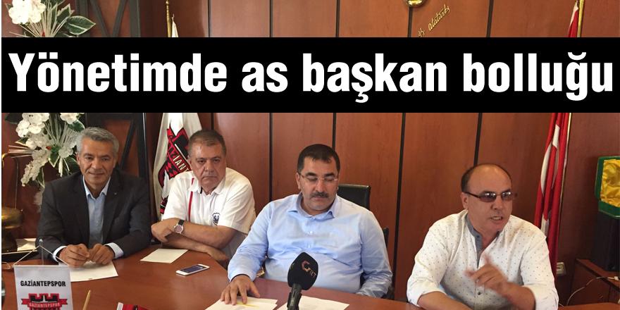 Gaziantepspor'da görev bölümü tamam