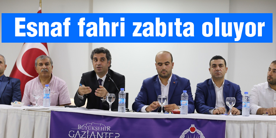 Esnafa 'Fahri Zabıta' kimliği verilecek