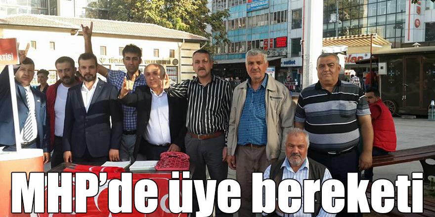MHP'de üye bereketi