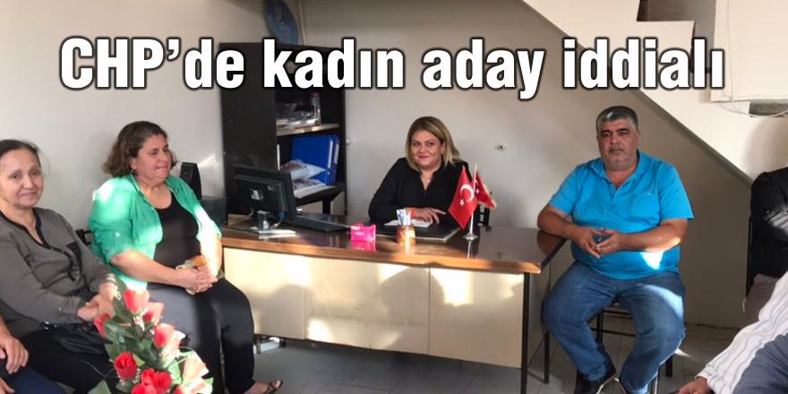 CHP'de kadın aday iddialı