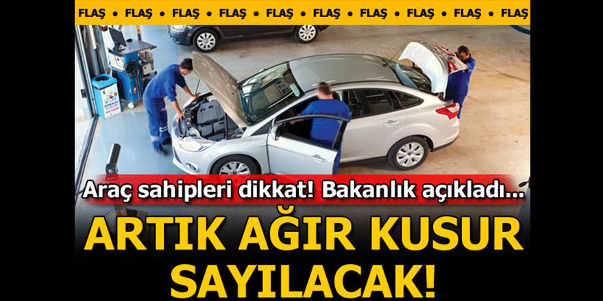 Araç sahipleri dikkat!