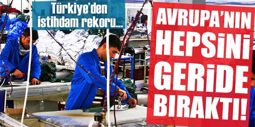 Türkiye istihdamda Avrupa'yı geride bıraktı