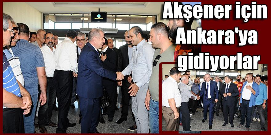 Akşener için Ankara'ya gidiyorlar