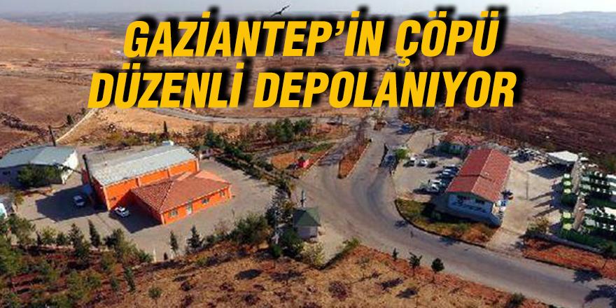 Gaziantep'in çöpü düzenli depolanıyor