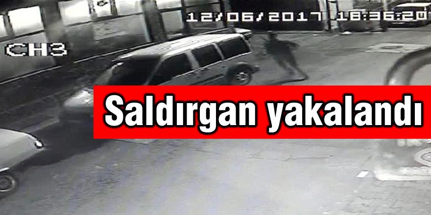 Pompalı tüfekle kurşun yağdıran saldırgan yakalandı