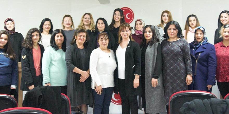 MHP'de kadın harekatı