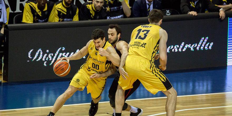 Iberastor Tenerife - Gaziantep Basketbol: 72-53