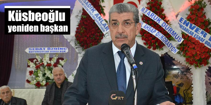 Küsbeoğlu yeniden başkan