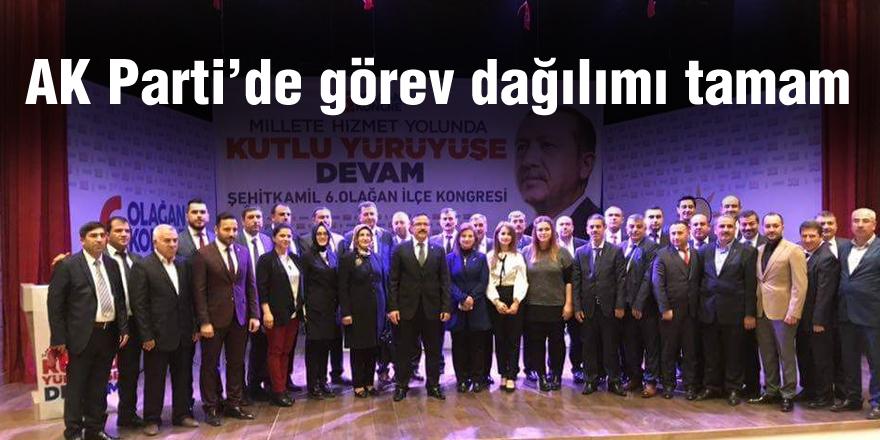 AK Parti'de görev dağılımı tamam