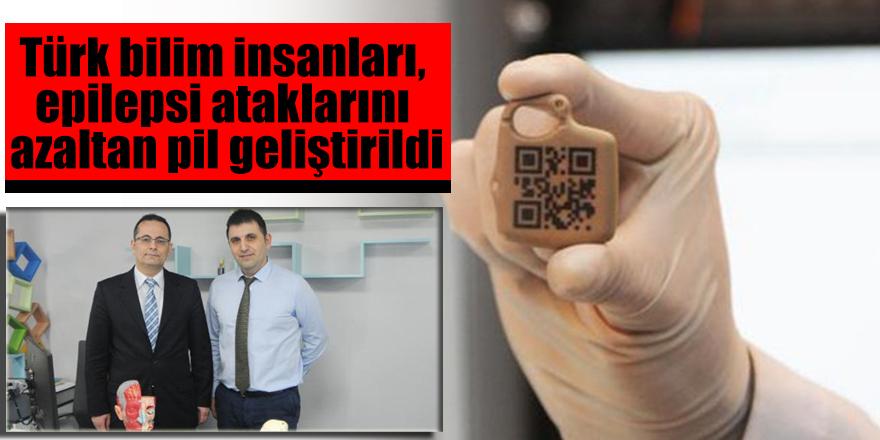 Türk bilim insanları, epilepsi ataklarını azaltan pil geliştirildi