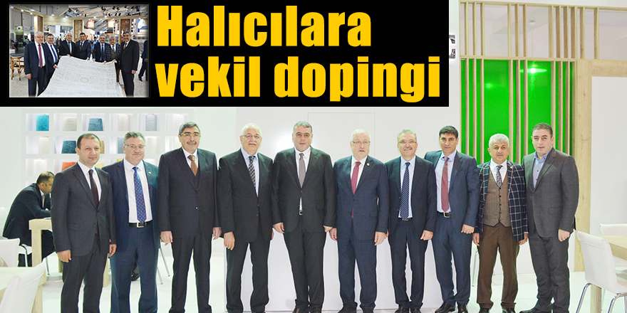 Halıcılara vekil dopingi