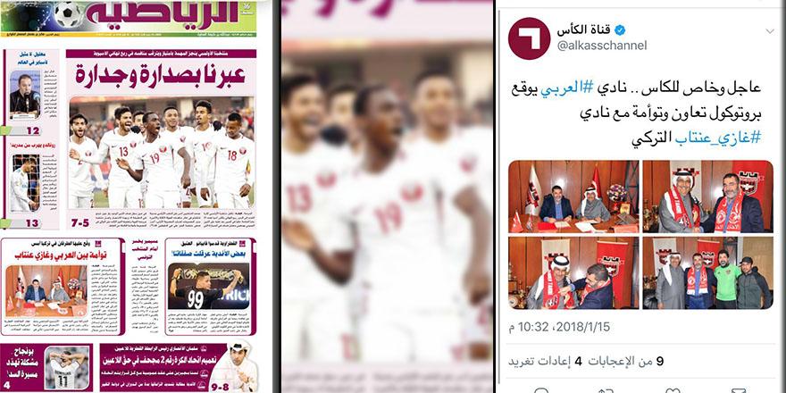 Gaziantepspor Katar basınında