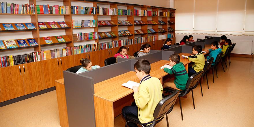 Şehitkamil'de kütüphane hamlesi