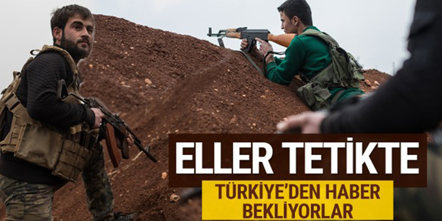 Türkiye için eller tetikte hazır kıta bekliyorlar!