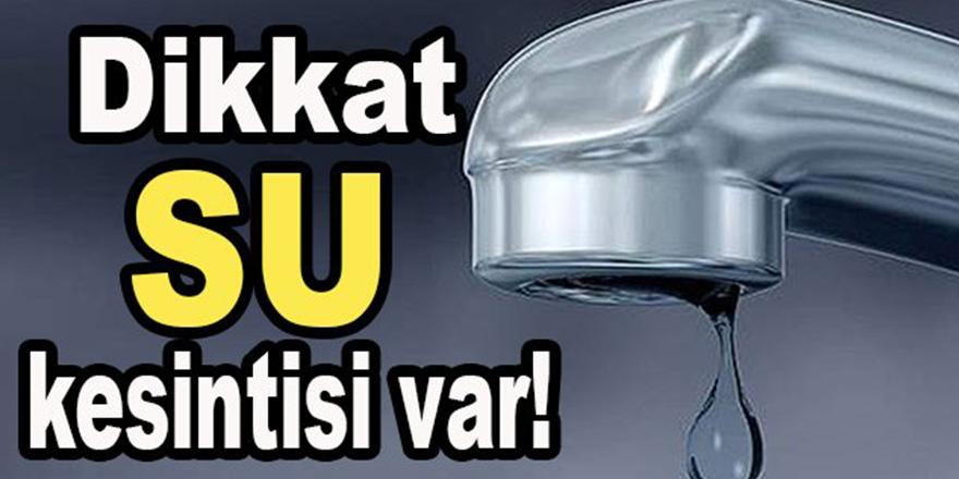 Gaziantep'te aşırı yağış ve rüzgar nedeniyle su kesintisi!..