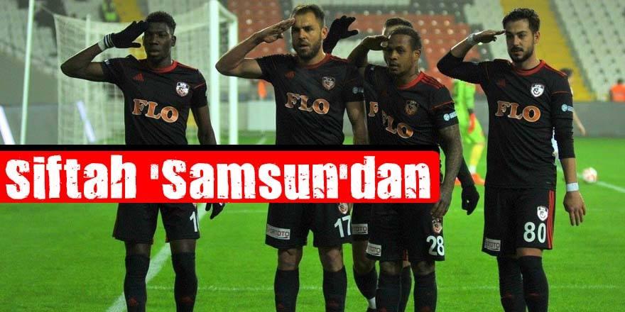 SİFTAH SAMSUN'DAN 3-0