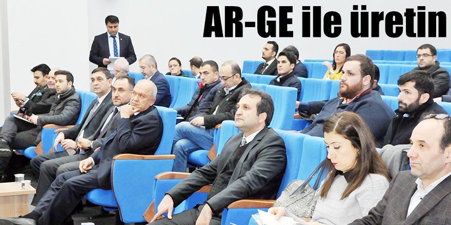 AR-GE ile üretin