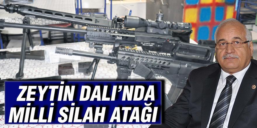 Zeytin Dalı'nda milli silah atağı