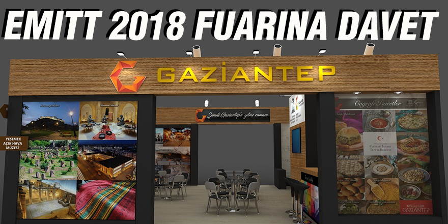 EMITT 2018 Fuarına davet