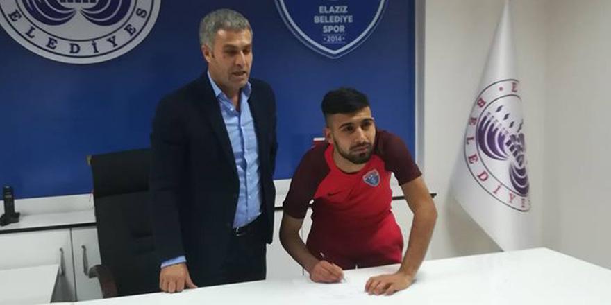 Gaziantepspor'dan Elazız'a gitti