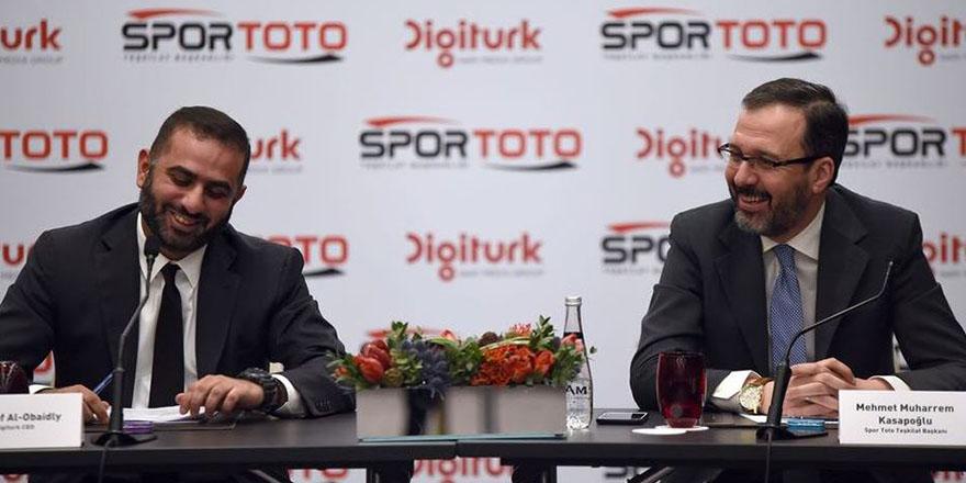Spor Toto isim sponsoru oldu