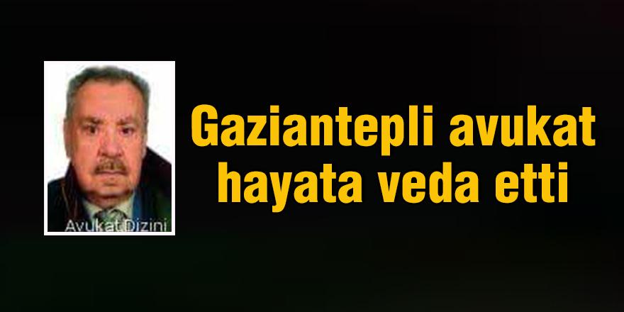 Gaziantepli avukat hayata veda etti