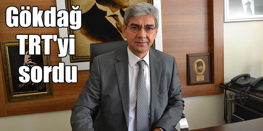 Gökdağ TRT'yi sordu