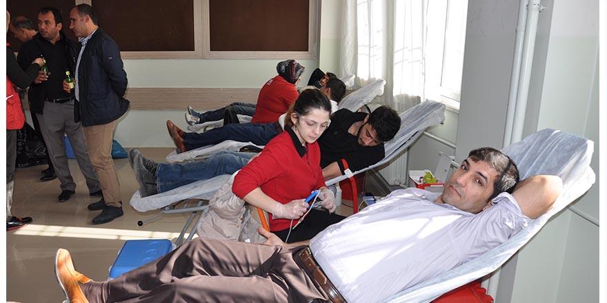 Gönüllü kan bağışı