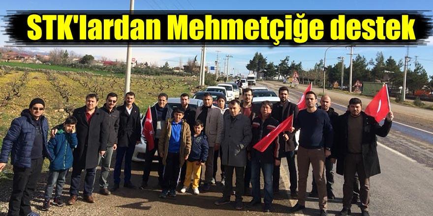 STK'lardan Mehmetçiğe destek