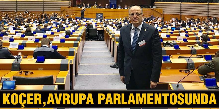 Koçer, Avrupa Parlamentosunda