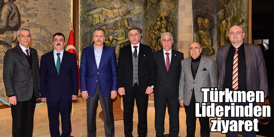 Türkmen Liderinden ziyaret