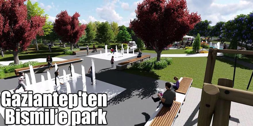 Gaziantep'ten Bismil'e park