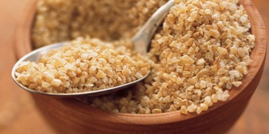 Pirinç değil bulgur tüketin!