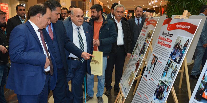 Engelsiz Gaziantep sergisi açıldı