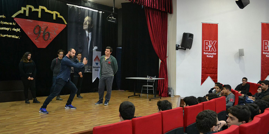 Bahçeşehir kolejinde Wushu semineri düzenlendi