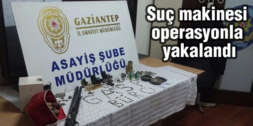 Suç makinesi, polis operasyonuyla yakalandı