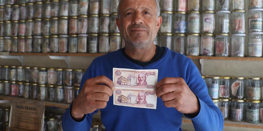 Mehmet Akif Ersoy'lu banknotlar bu müzede