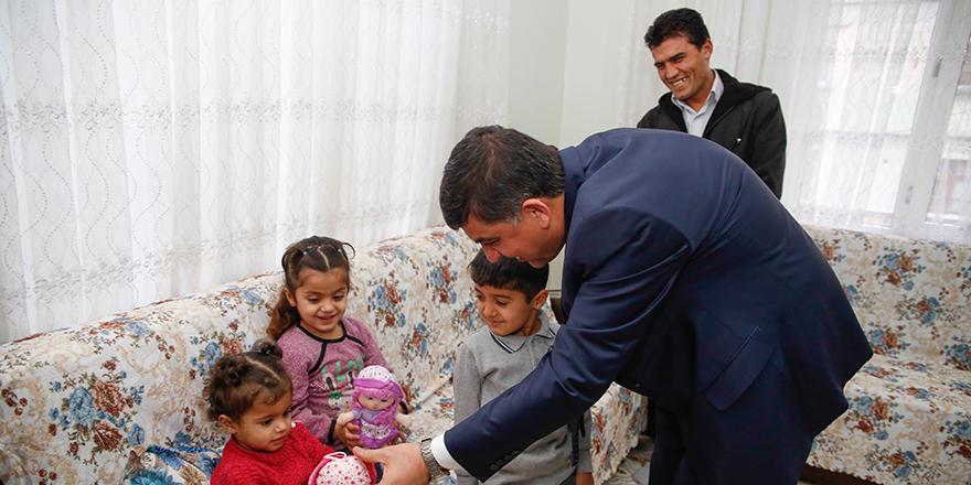 Başkandan sürpriz ziyaret