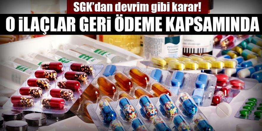 SGK 5 kanser ilacını geri ödeme listesine aldı!