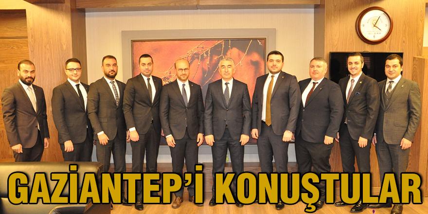 Gaziantep'i konuştular